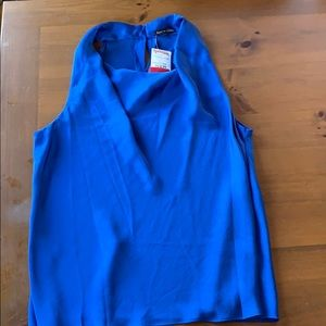 Brand new with tags royal blue top